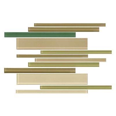Daltile Color Wave Rain Forest Interlocking Mosaic CW251214MS1P