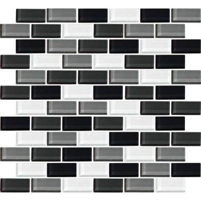 Daltile Color Wave Evening Mixer BrickJoint Mosaic CW2821BJMS1P