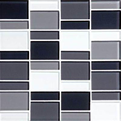 Daltile Color Wave Evening Mixer Block Random Mosaic CW28BLRANDMS1P