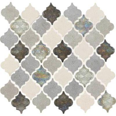 Daltile Limestone Collection Gris Et Blanc Baroque DA192BAROQUMS1P