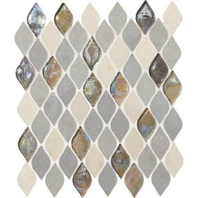 Daltile Limestone Collection Gris Et Blanc Rain Drop DA19RAINDRPMS1P