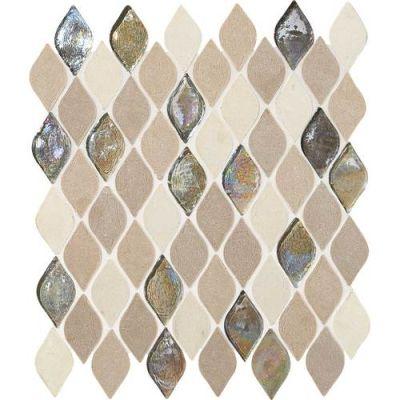 Daltile Limestone Collection Blanc Et Beige Rain Drop DA20RAINDRPMS1P