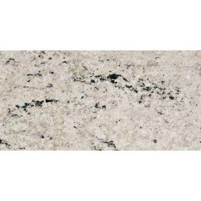 Daltile Granite Collection Cotton White (flamed) White/Cream G95812241M