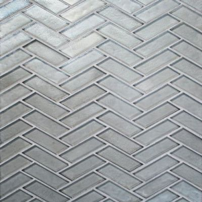 Daltile Illuminary Silverlight Gray/Black IL0313HERSWCHCD