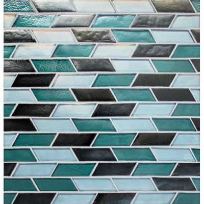 Daltile Illuminary Topiary Blend Blue IL9813OSCSWCHCD