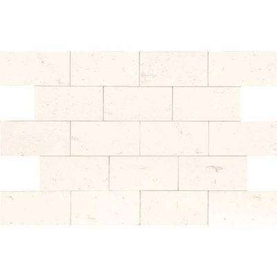 Daltile Limestone Collection Blavet Blanc 3×6 (Honed) L340361U