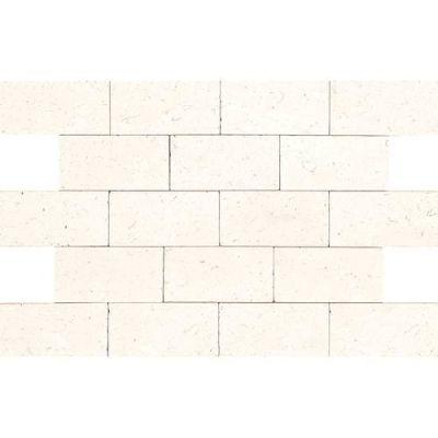 Daltile Limestone Collection Blavet Blanc 3×6 (Tumbled) L34036TS1P