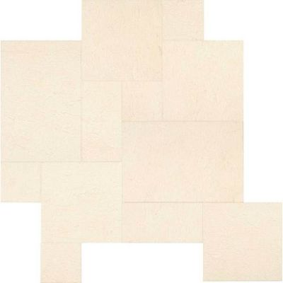 Daltile Limestone Collection Adour Creme Versailles Pattern (Leather) L341PATTERN1N