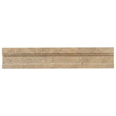 Daltile Limestone Collection Corton Sable Modern Chair Rail L343212MCR1U