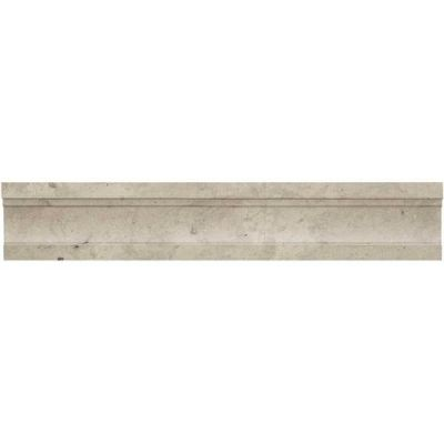 Daltile Limestone Collection Volcanic Gray Chair Rail (Polished and Honed) L725212MCR1U