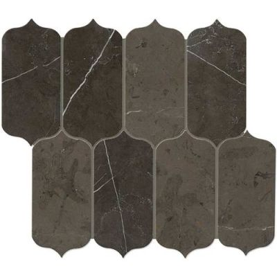 Daltile Marble Collection Antico Scuro Ingot Mosaic (Polished) M049INGOTMS1L