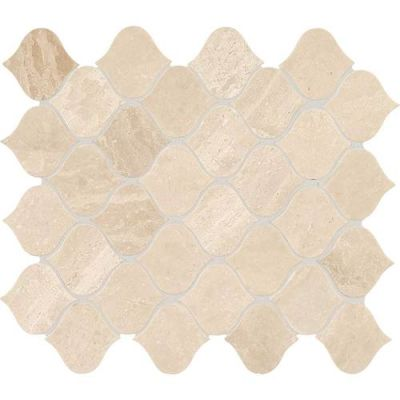 Daltile Marble Collection Meili Sand Lantern Mosaic (Polished) M106LANTMS1L
