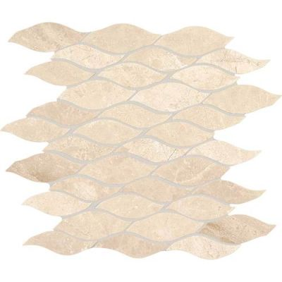 Daltile Marble Collection Meili Sand Random Wave Mosaic (polished) Beige/Taupe M106WAVEMS1L