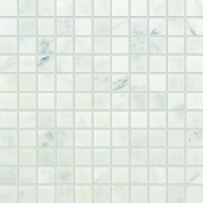 Daltile Marble Collection First Snow Elegance 1 X 1 Mosaic Honed White M19011MS1U