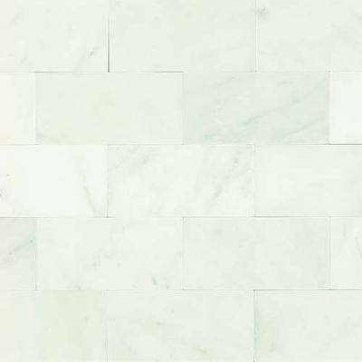 Daltile Marble Collection First Snow Elegance 3 x 6 Honed and Polished M190361L