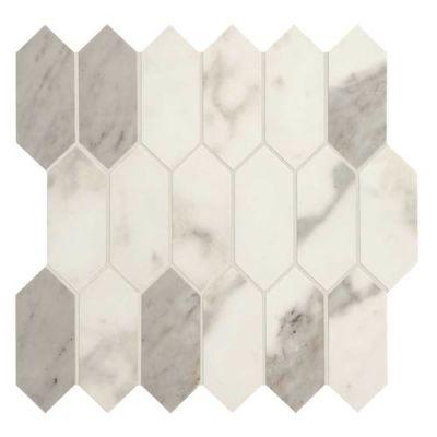 Daltile Marble Attache Calacatta MA8725HEXMSMT1P