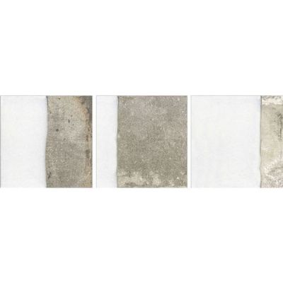 Daltile Metro Impressions Downtown Ivory Mix Gray/Black MI351010W1P
