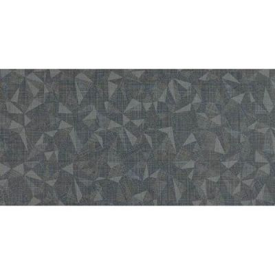Daltile Fabric Art Modern Kaleidoscope Midnight Steel Prism Gray/Black MK7312241PK