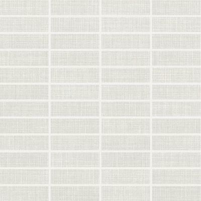 Daltile Fabric Art Modern Textile White White/Cream MT5013SWATCH