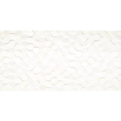 Daltile Multitude Origami White Hexagon MU161224H1P2