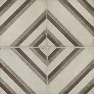Daltile Quartetto Cool Piazza Gray/Black QU2488PIAZZSM1P