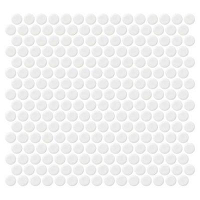 Daltile Retro Rounds Bold White Matte RR0211PNYRDMS1P