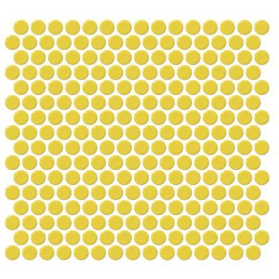 Daltile Retro Rounds Daffodil Yellow RR0711PNYRDMS1P