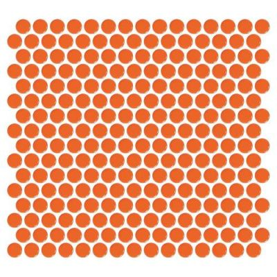 Daltile Retro Rounds Orange Soda RR0811PNYRDMS1P