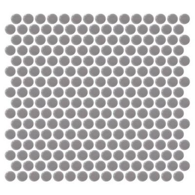 Daltile Retro Rounds Engine Gray RR1311PNYRDMS1P