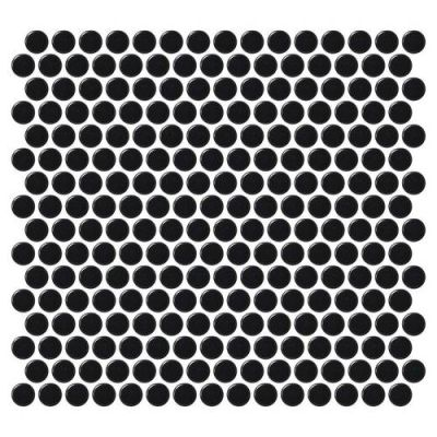 Daltile Retro Rounds Canvas Black Matte RR1511PNYRDMS1P