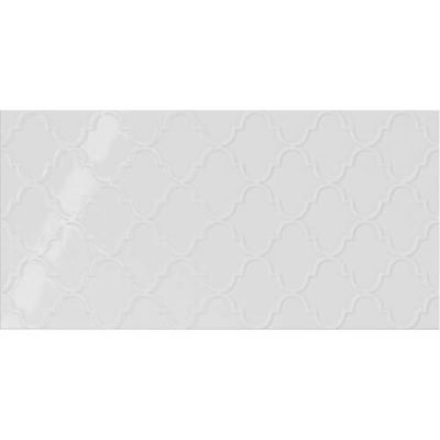 Daltile Showscape Stylish White Arabesque White/Cream SH091224A1P2