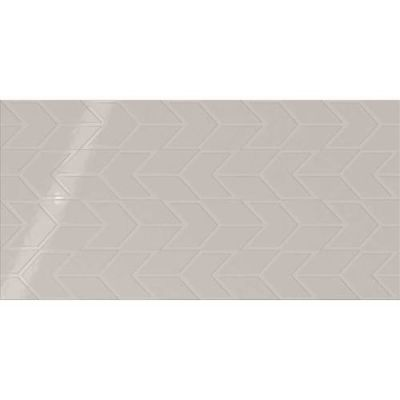 Daltile Showscape Soft Gray Chevron SH111224C1P2