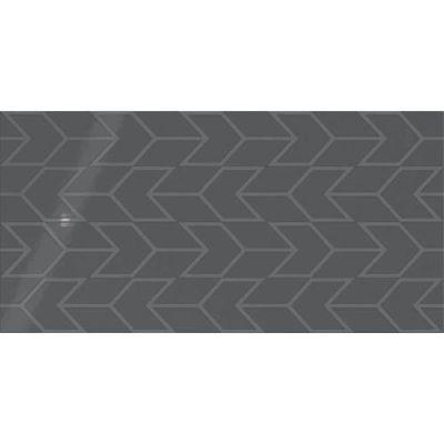 Daltile Showscape Deep Gray Chevron SH121224C1P2