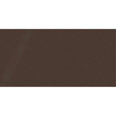 Daltile Showscape Cocoa Arabesque Brown SH131224A1P2