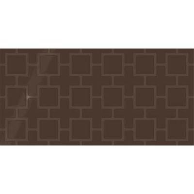 Daltile Showscape Cocoa Square Lattice SH131224B1P2