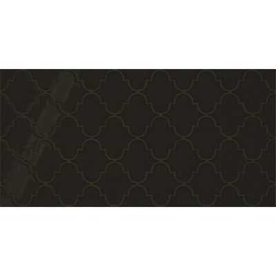 Daltile Showscape Black Arabesque Black SH141224A1P2
