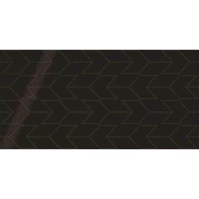 Daltile Showscape Black Chevron SH141224C1P2