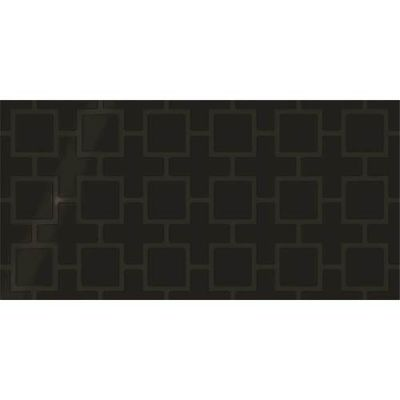 Daltile Showscape Black Square Lattice SH141224B1P2
