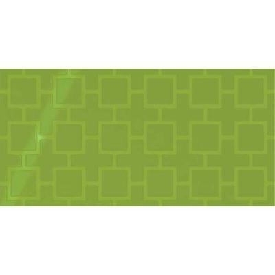 Daltile Showscape Vivid Green Square Lattice SH151224B1P2