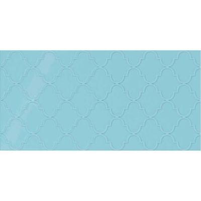 Daltile Showscape Crisp Blue Arabesque Blue SH161224A1P2