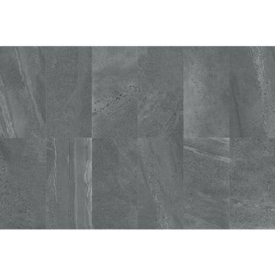 Daltile Society Union Smoke Gray/Black SO4812241P