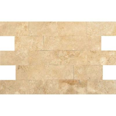 Daltile Travertine Collection Fossil Ridge Cross Cut 3×6 (Honed) T102361U