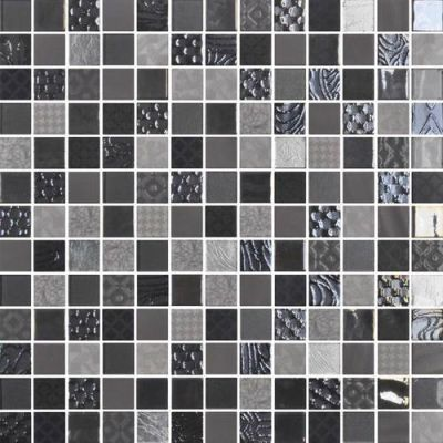 Daltile Uptown Glass Metro Gray UP0811MS1P