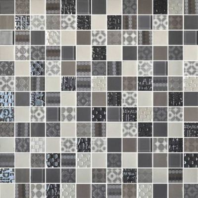 Daltile Uptown Glass Metro Taupe Beige/Taupe UP0911MS1P