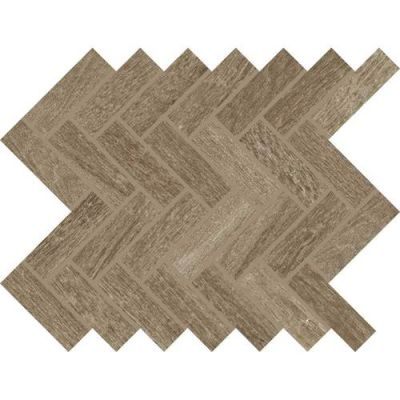 Daltile Woodbridge Ash Oak Gray/Black WB9913HERMS1P2