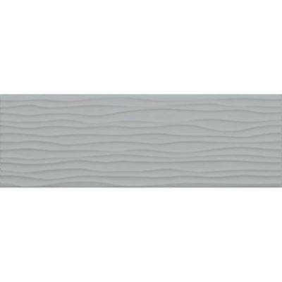 Daltile Modern Dimensions Matte Desert Grey4 1/4 X 12 3/4wave Tile Gray/Black X714412MODW1P2