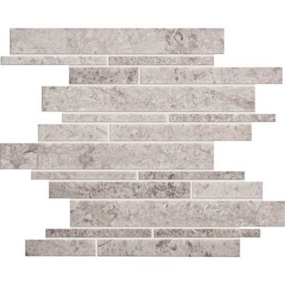 Daltile Limestone Collection Siberian Tundra Random Linear Mosaic Honed L701RDMMS1U