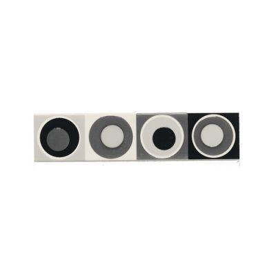 Daltile Modern Dimensions MultiBlack Concentric Circles Accent 2″ x 8″ K06028DECO1P
