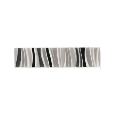 Daltile Modern Dimensions MultiBlack Frequency Lines Accent 2″ x 8″ K06028DECOA1P