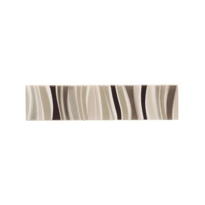 Daltile Modern Dimensions Multibrown Frequency Lines Accent 2″ X 8″ Brown K06128DECOA1P